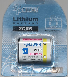 Importador de Pilas 2CR5 Distribuidor de pilas, relojes, baterias