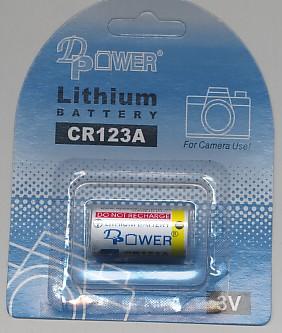 Importador de Pilas CR123 Distribuidor de pilas, relojes, baterias