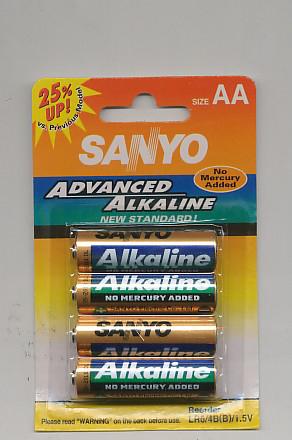 Importador de Pilas LR6 Sanyo Distribuidor de pilas, relojes, baterias