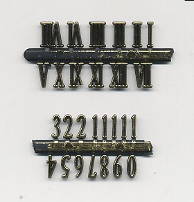 Importador de Fornituras y mallas Numeros  Distribuidor de pilas, relojes, baterias
