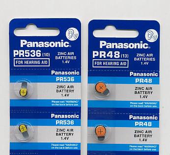Importador de Pilas PR536 -  PR48 Panasonic Distribuidor de pilas, relojes, baterias