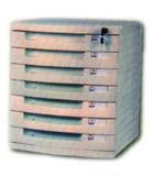 Importador de Electronica y varias YX-2118 MULTI-ARCHIVOS Distribuidor de pilas, relojes, baterias