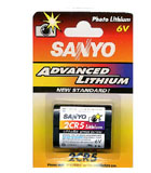 Importador de Pilas Sanyo bateria para camara de fotos 2CR5 Distribuidor de pilas, relojes, baterias