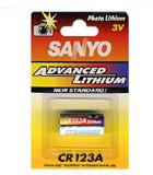 Importador de Pilas Sanyo CR123 Distribuidor de pilas, relojes, baterias