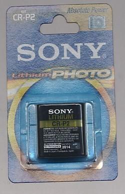 Importador de Pilas CRP2 Sony Distribuidor de pilas, relojes, baterias
