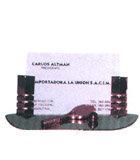 Importador de Regalos empresarios 9182T Porta tarjetas -fotografias Distribuidor de pilas, relojes, baterias