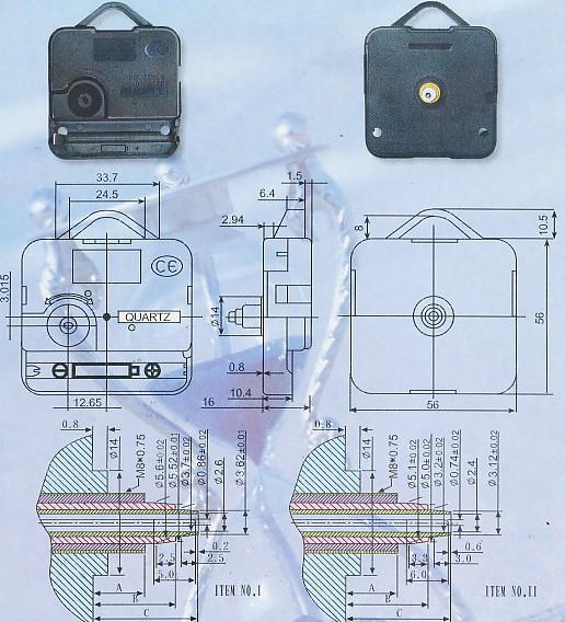 Importador de Fornituras y mallas Maquina de reloj Distribuidor de pilas, relojes, baterias