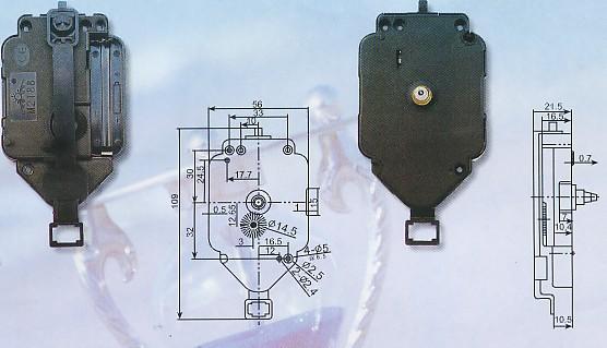 Importador de Fornituras y mallas Maquina de reloj pendular Distribuidor de pilas, relojes, baterias