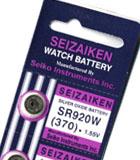 Importador de Pilas Pila 370 Seiko Distribuidor de pilas, relojes, baterias