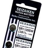 Importador de Pilas Pila 381 Seiko Distribuidor de pilas, relojes, baterias