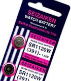 Importador de Pilas Pila 391 Seiko Distribuidor de pilas, relojes, baterias
